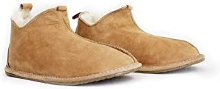 Genuine Sheepskin & Leather Slippers for Women and Men