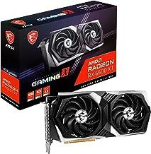 MSI Gaming AMD Radeon RX 6600 XT 8GB GDDR6 128-Bit HDMI/DP Torx Fan RGB Graphics Card (RX 6600 XT Gaming X 8G)