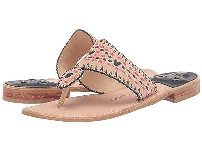 Jack Rogers Jacks Crochet Flat Sandal (Sand) Women