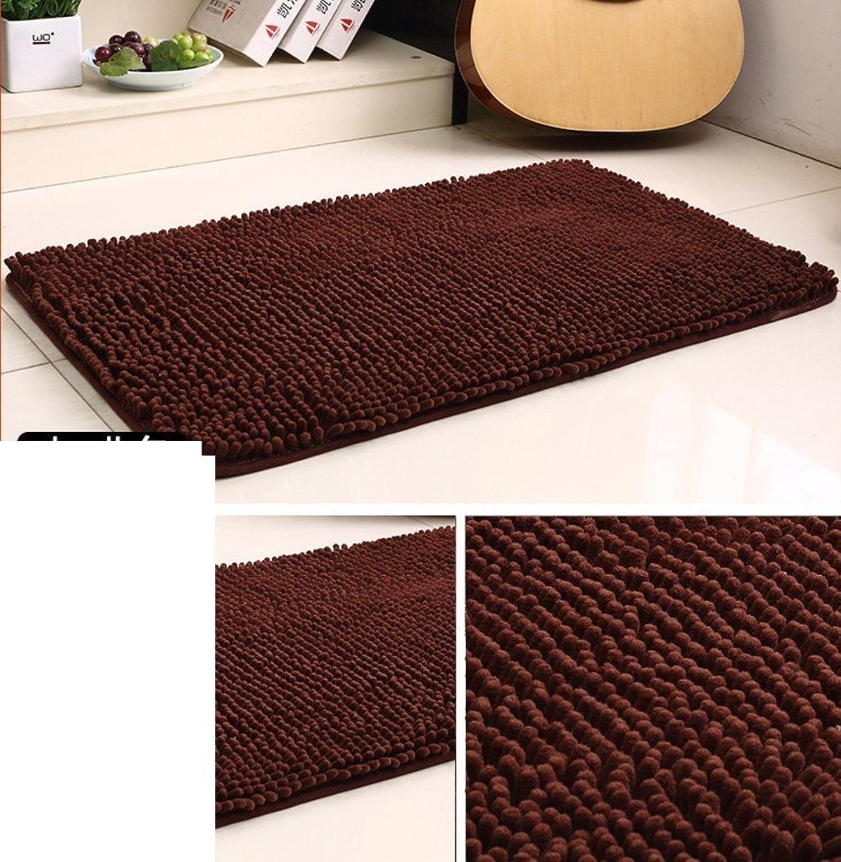 Doormat Bedside mats Bathroom,[Absorbent],Doormat Foot pad Kitchen,Non-Slip mat-H 50x120cm(20x47inch)