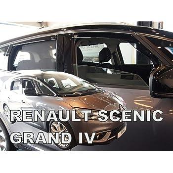 J/&J AUTOMOTIVE DEFLETTORI ARIA ANTITURBO Renault Scenic IIII 2009-2016 2 pezzi