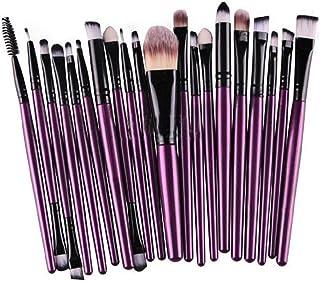 KOLIGHT 20 Pcs Pro Makeup Set Powder Foundation Eyeshadow Eyeliner Lip Cosmetic Brushes...