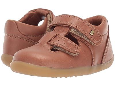 Bobux Kids Step Up Jack and Jill (Infant/Toddler) (Caramel) Kids Shoes