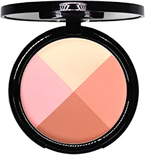EVE PEARL Ultimate Face Compact Blush Highlighter Contour Eye shadow Set Makeup Palette Light to Medium- Timeless
