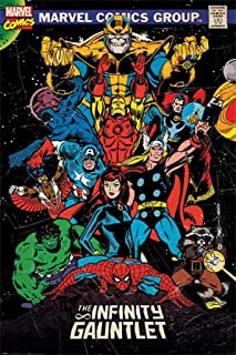 Marvel Comics - Comic Poster (Comic Cover - The Infinity Gauntlet) (Size: 24