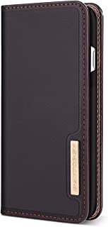 Galaxy Note 8 Case, Samsung Galaxy Note 8 Wallet Case, BENTOBEN Leather Slim Flip Kickstand Credit Card Slots Cash Holder Protective Wallet Case Cover for Samsung Galaxy Note 8, Brown