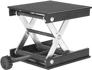 Scissor Lift - Lab Lift Platform 90 x 90mm, Lifting Jack Lab Stand Lab Tabeller för nivå- / landningsinstrument Arbetslyft...