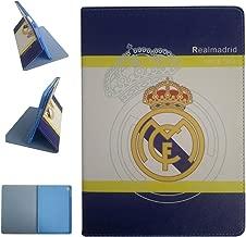 ipad Air 2/ipad Air/ipad Pro 9.7-inch Case, Real Madrid Football Team Club Pattern PU Leather Flip Case for ipad Pro 9.7-inch/ipad Air 2/ipad Air (Real Madrid)