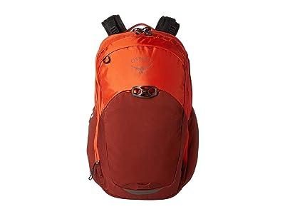 Osprey Radial (Rise Orange) Backpack Bags
