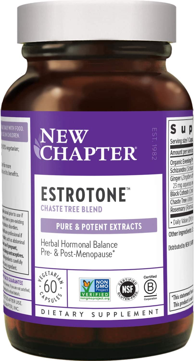 New Chapter Menopause Deluxe Supplement with Estrotone Evening Cheap mail order sales Primrose