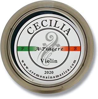 CECILIA 'A Piacere' Rosin for Violin, Rosin Specially Formulated Violin Rosin for Violin Bows (MINI (Half Cake))