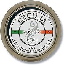 CECILIA 'A Piacere' Rosin for Violin, Rosin Specially Formulated Violin Rosin for Violin Bows (MINI (Half Cake))