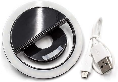 Vhbw Selfie Black Light 36 Leds 3 Brightness Levels Elektronik