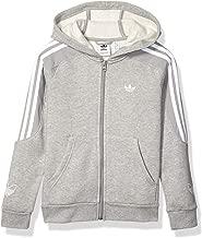 adidas Originals Kids' Big Juniors Outline Hooded Sweatshirt