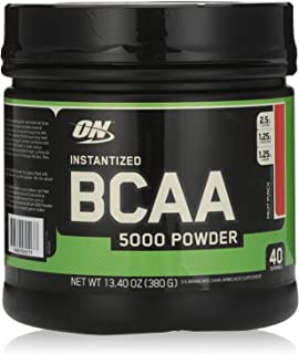 Optimum Nutrition BCAA Fruit Punch Flavor 5000 Powder, 380 g