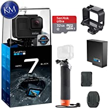 $349 Get GoPro Hero 7 (Black) Action Camera w/ Extra Battery and Floating Grip Bundle