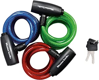 ChalowKart Multi Purpose Cable Lock for Bicycle, Bikes, Door, Lockers, Multi Function Cable Lock Multi Color