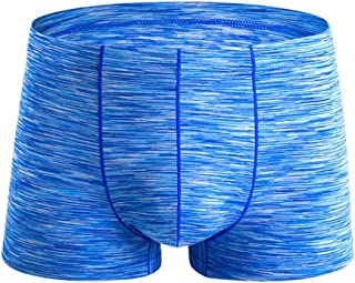 Trunks Brief Men Boxer Underwear Sexy Ice Bulge Pouch Swimwear Underpants Shorts Zulmaliu