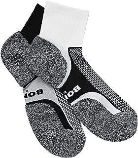 Bonds Men's Ultimate Comfort Quarter Crew Socks (2 Pairs)