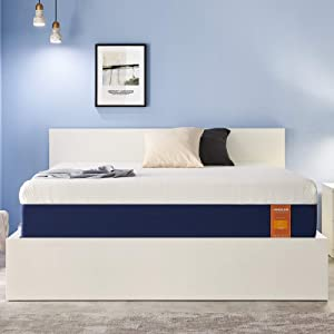 JINGXUN Queen Size Mattress 9 Inch Gel Memory Foam Queen Mattress for Cool Sleep & Pressure Relief, Premium Gel Multi Layered Memory Foam Bed Mattress in a Box, Easy Set-Up