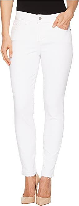 NYDJ Ami Skinny Ankle w/ Released Hem in Optic White