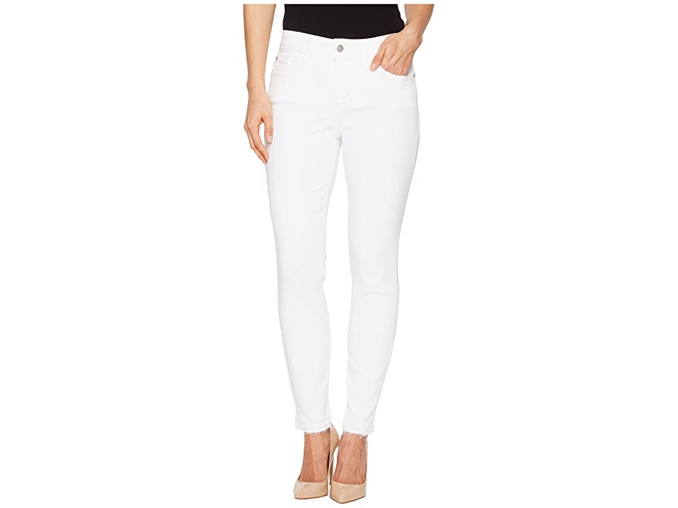 NYDJ Ami Skinny Ankle w/ Released Hem in Optic White (Optic White) Women's Jeans