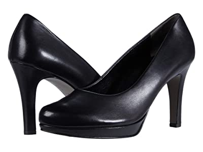 Paul Green Corey Pump (Black Leather) Women