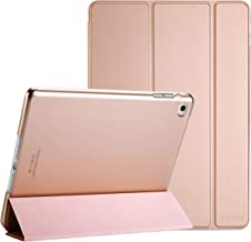 ProCase Smart Case for iPad Air 2 (2014 Release), Ultra Slim Lightweight Stand Protective Case Shell with Translucent Frosted Back Cover for Apple iPad Air 2 (A1566 A1567)-Rosegold