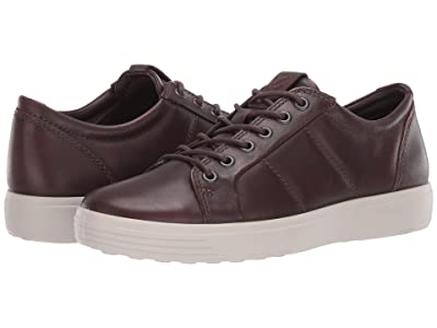 ECCO Soft 7 Premium Sneaker (Cognac) Men