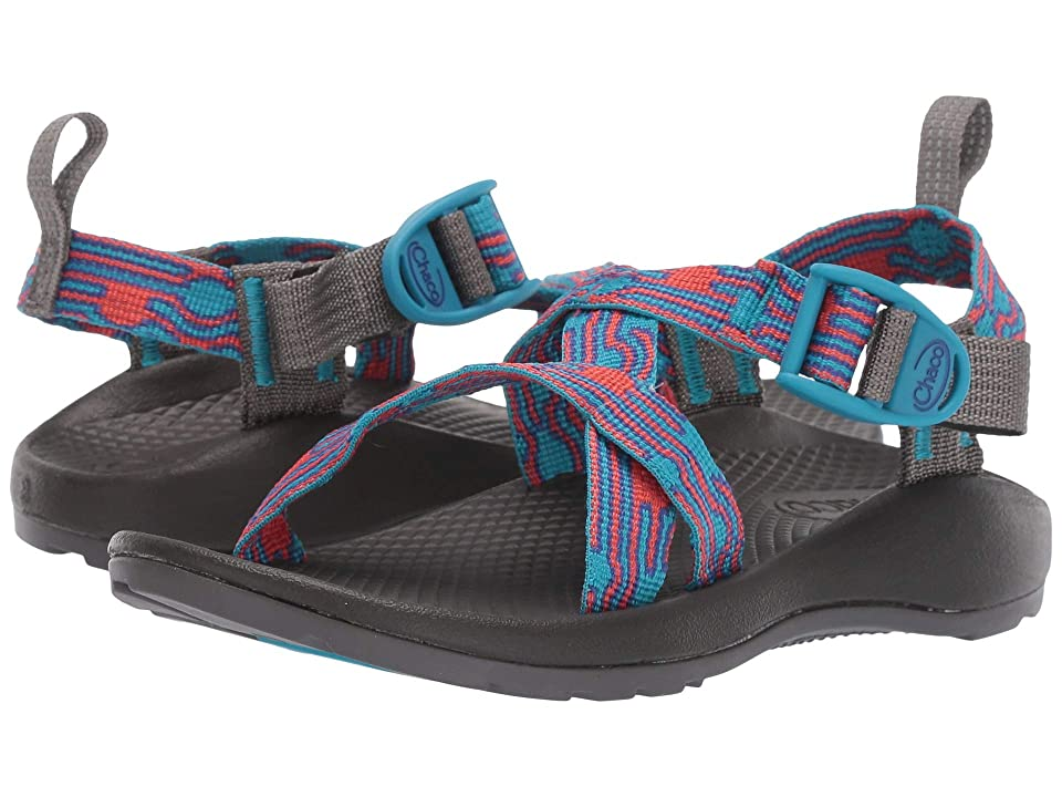 Chaco Kids Z/1 Ecotread (Toddler/Little Kid/Big Kid) (Bubble Teal) Kids Shoes
