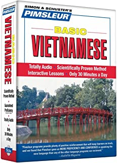 Pimsleur Vietnamese Basic Course - Level 1 Lessons 1-10 CD: Learn to Speak and Understand Vietnamese with Pimsleur Language Programs (1)