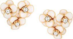 Shine On Flower Cluster Studs Earrings