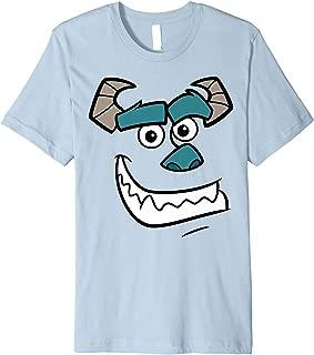Pixar Monsters Inc Sulley Face Costume Premium T-Shirt