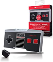 My Arcade GamePad Classic - Wireless Game Controller - Compatible with Nintendo NES Classic Edition, Wii, Wii U - Adapter Included - 30 Feet Range - Home Button - Battery Powered - Ergonomic Design