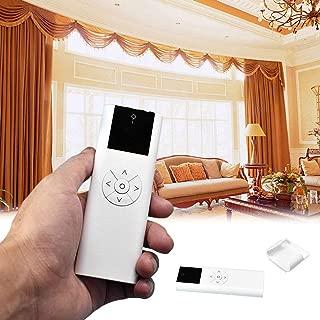 Control remoto para persianas con rodillo eléctrico, 100-240 V AC 1/2/6 canales motorizados para cortinas de ventana y persianas, mando a distancia