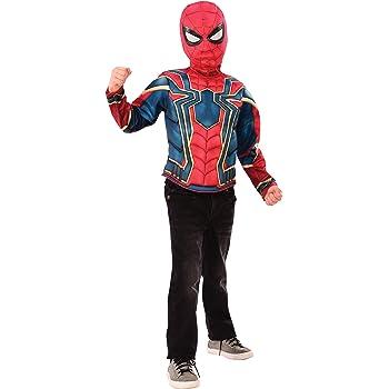 Spiderman - Disfraz de Iron Spider Infinity Wars para niños, pecho ...