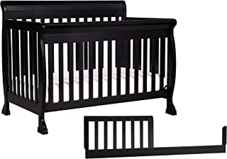 DaVinci Kalani 4-in-1 Convertible Crib with Toddler Bed Conversion Kit, Ebony