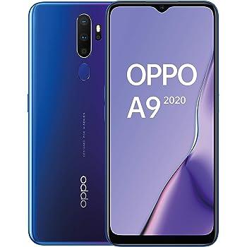 Oppo A9 2020 - Smartphone de 6.5 HD+, 4G Dual SIM, 8 Core, 128 GB, 4 GB RAM, 48 + 8 + 2 + 2 MP, 16 MP, Púrpura Espacial: Amazon.es: Electrónica