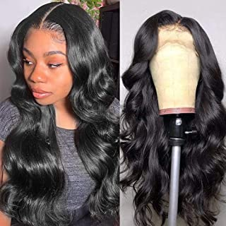Lace Front Wigs Human Hair for Black Women Body Wave 13x4 Lace Front Wigs Pre Pluckedwith Baby HairBrazilian Virgin Huma...