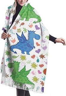 Lsjuee Half Bandanas Sorte Kopftuch Hals Warme Neck Gamasche Schal Asiatischer chinesischer Drache mit Kampfkunstfiguren Japanischer Samurai Ying Yang Bild Sorte Kopftuch