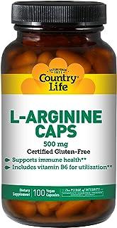 L-Arginine Caps 500mg 100 VegiCaps