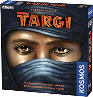 Thames & Kosmos | Targi | Two Player Game | Strategy Board Game | Golden Geek Award Nominee | Kennerspiel Des Jahres Award Finalist