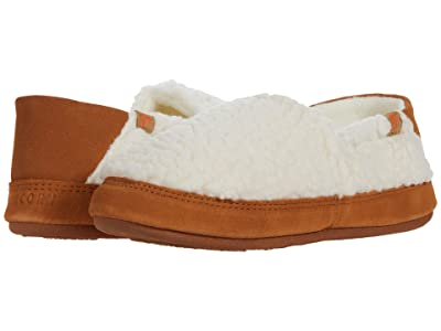 Acorn Collapsible Heel Moc II (Buff Popcorn) Women