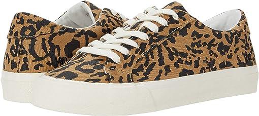 Leopard Print Autumn Canvas