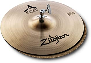 "Zildjian 14"" A Custom Mastersound HiHats – Pair"