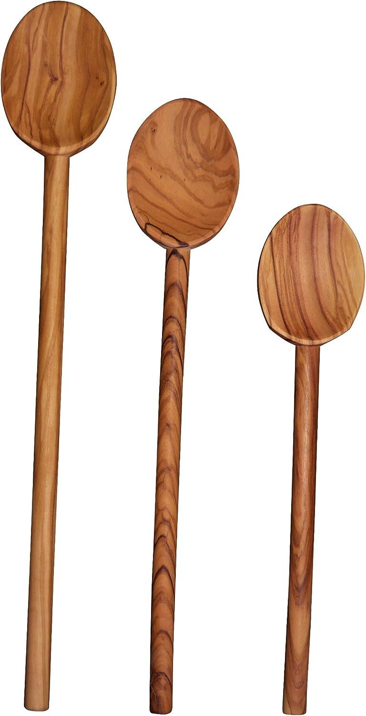 Scanwood Olive Wood Cooking Manufacturer OFFicial shop Spoon 10