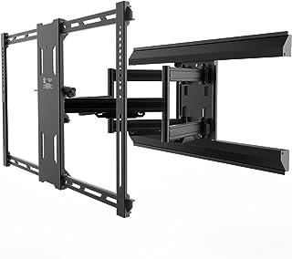 "Kanto Full Motion PMX680 Pro Series Mount for 39"" to 80"" Flat Panel TVs, Black"