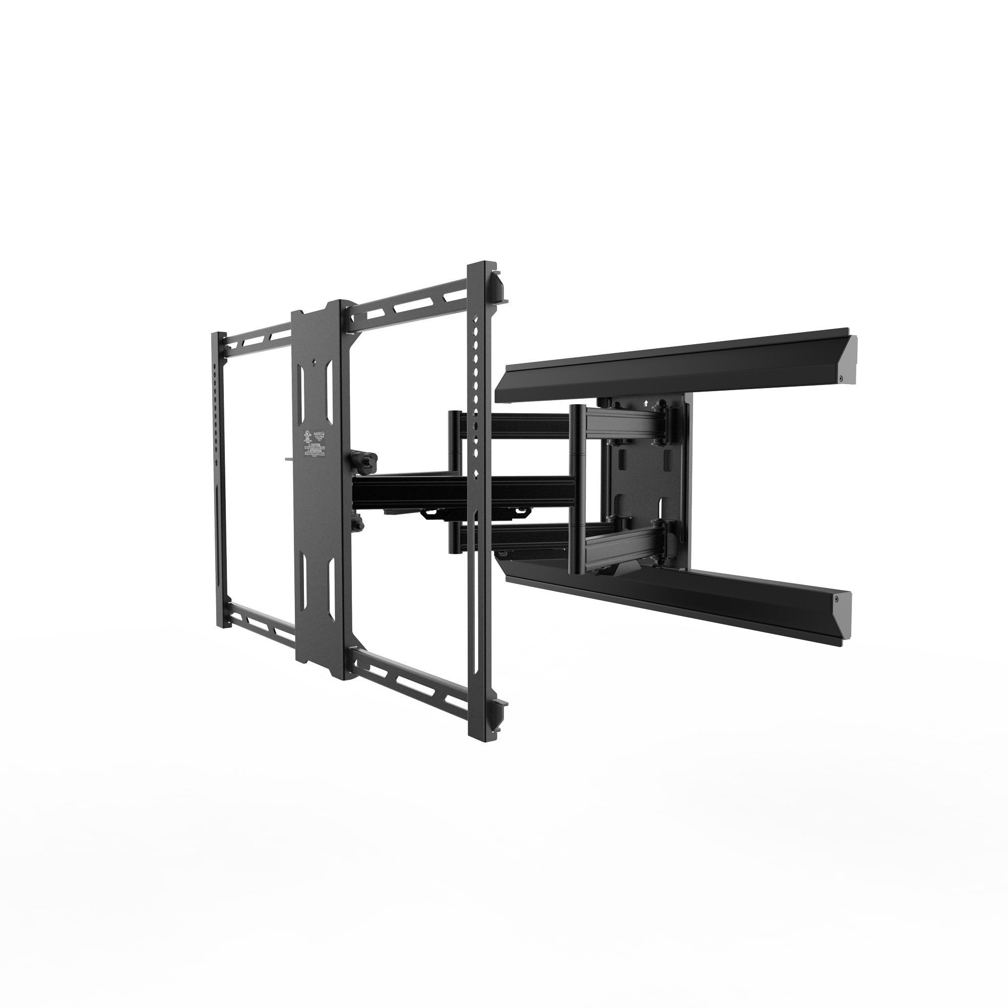 Kanto Full Motion PMX660 Pro 系列支架适用于 93.98 厘米至 203.2 厘米平板电视,黑色PMX680 PMX680