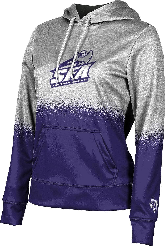 Stephen F. Austin State University Girls' Pullover Hoodie, School Spirit Sweatshirt (Spray Over)