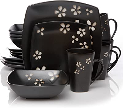 Hometrends Sylvan Springs 16pc Dinnerware Set